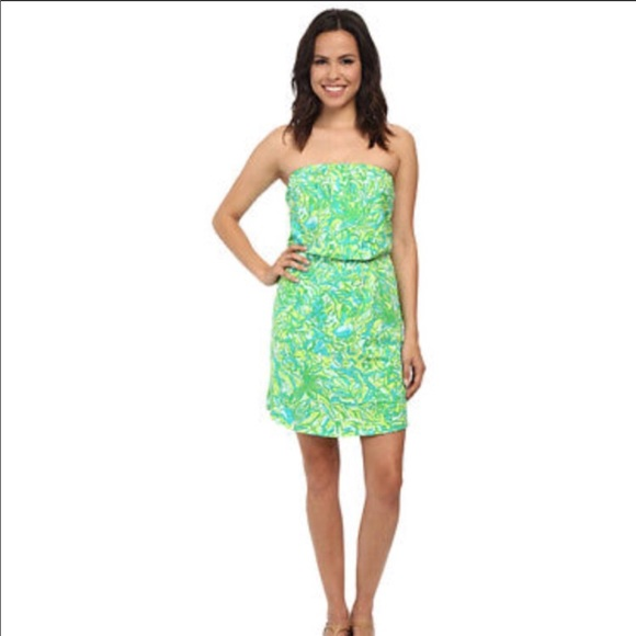 9b091838a8e2 Lilly Pulitzer Dresses & Skirts - Lily Pulitzer Windsor Strapless Dress
